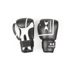 HAMMER BOXING Handschuh FIT II 8 OZ, black, 12 OZ