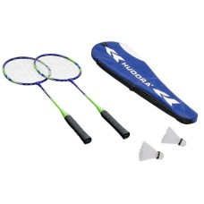 Hudora Badmintonset Winner HD-33, Inhalt: 2 Schläger, 2 Bälle