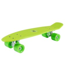 Hudora Skateboard Retro Lemon Green