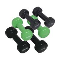 Schildkröt Fitness Coffret  avec 6 haltères , 2x0.5kg, 2x1kg, 2x1.5kg