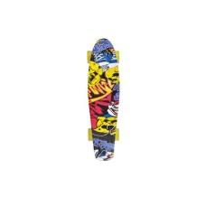 Schildkröt Retro Skateboard, Free Spirit, Party