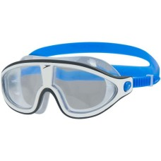 Speedo Rift Mask, bondi blue / white / clear