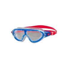 Speedo Biofuse Rift Jr. Mask, lava red/beautiful blue/clear