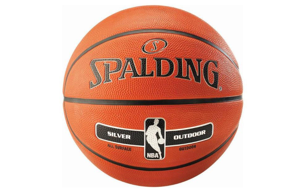 Spalding NBA Silver Outdoor, Grösse: 5, Outdoor