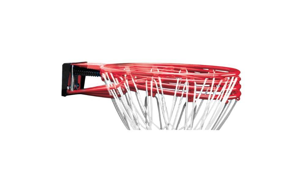 Spalding Slam-It, Korb rouge  avec Netz, ohne Board