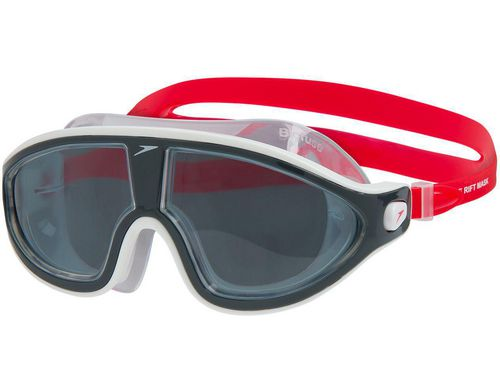 Speedo Rift Mask, lava red / oxid grey / smoke