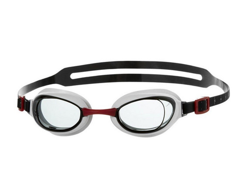 Speedo Aquapure, red/smoke
